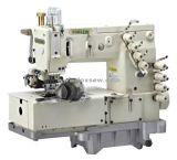4-naald Flat-Bed Dubbele ketting-Steek Machine voor Broeksband