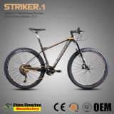 Bici di montagna del blocco per grafici della fibra del carbonio della sospensione di asse 27.5er di Xt M8000-22speed Thro