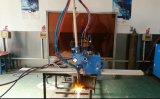 draagbare straal I van H straal en kanaal de vlam scherpe machine van het staalgas