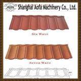 Облицеванная Coated производственная линия плитки крыши