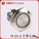 Bouton à bouton-poussoir à 25 mm