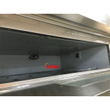 Four électrique commercial personnalisé de traitement au four de pain de four de 3 plateaux du paquet 6