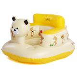 Historieta con asiento inflable del baño del bebé del PVC o de TPU de la impresión de la insignia