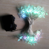 Décoratifs Soft Romantic Christmas String LED Lights avec ligne flexible
