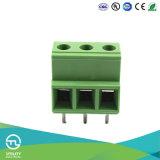Тип разъем евро провода электрический тангажа терминальных блоков 1000V 10.16mm винта