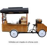 Bici grande del vehículo del café con la opción de 4 ruedas