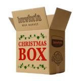 Venta al por mayor de papel de encargo del navidad caja de regalo