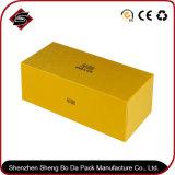 Таможня бронзируя высококачественную упаковывая бумажную коробку торта подарка