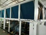 refrigerador de água 320kw de refrigeração ar com o compressor do parafuso de Bitzer