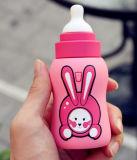 Chargeur promotionnel de téléphone de cadeaux de côté portatif de pouvoir de type de bouteille à lait de dessin animé