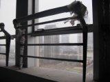 Балюстрада нержавеющей стали лестницы поручня нержавеющей стали стеклянная