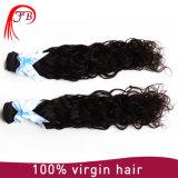 El 100% tejer naturales brasileños del pelo de la onda del pelo humano de la Virgen