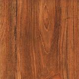 Estratificação da madeira do Teak que pavimenta o papel decorativo