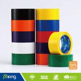 De gele Band van de Verpakking BOPP van de Kleur Zelfklevende Zelfklevende