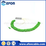 Smart Card ADSL Splitter Loss 1: 64 Fiber Optic PLC Splitter