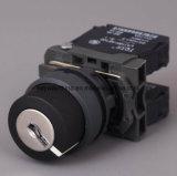 22mm de Schakelaar van de Drukknop met Veiligheidsslot