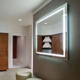 Specchio fissato al muro chiaro del lusso illuminato LED dell'hotel LED della stella