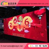 Digitaces al aire libre Comercial que hace publicidad de la muestra de P4mm LED