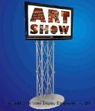 Продукты выставки стойки TV ферменной конструкции стеллажей для выставки товаров торговой выставки