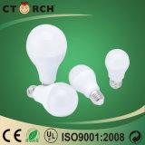 Ctorch 9Wの高い内腔の照明E27/B22 LED球根のセリウムのRoHSの承認