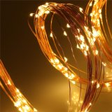 2m декор комнаты партии Xmas медного провода 360 светов шнура СИД Fairy водоустойчивый