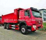 Caminhão de descarregador usado 6X4 da descarga do Tipper de Sinotruck HOWO (RHD)