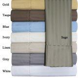 新しいデザイン白いサテンの平野の寝具はホテル(DPF1071100)のためにセットした