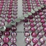 Верхняя часть 2017 продавая стикер письма алфавита стикера DIY самоцвета Rhinestone акрилового кристаллический стикера акриловый кристаллический (TP-fuchsia и лт. розовый кристаллический стикер)