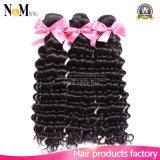 Karosserien-Wellen-tief lockige lose Wellen-gerades Haar-unterschiedliche Art-ausgezeichnetes brasilianisches Webart-Haar