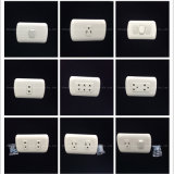 Interruptor de la pared de la alta calidad del material 2way/3way del ABS (P-009)