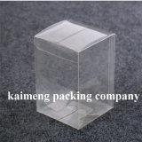 Cuadrado vendedor caliente plegable la caja de embalaje clara plástica para el conjunto de la torta (caja de embalaje)