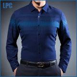 Camisas ocasionais do ajuste magro para homens