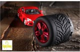 Altofalante redondo ao ar livre de Bluetooth do rolamento da roda dos altofalantes do pneu de carro do GS