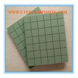 15mm scanalatura verde e foro di 80kg che perforano memoria della gomma piuma del PVC