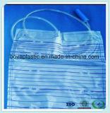 Sac non-toxique d'urine de connecteur de cathéter de pente médicale de PVC pour l'enfant en bas âge avec RoHS