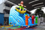 Surfendes Thema-aufblasbares Plättchen-Tierplättchen für Kind-Spiel (chsl625)