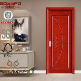 Проектированное деревянное цена двери переклейки двери (GSP8-007)