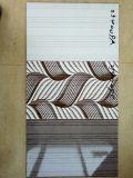 azulejo de cerámica esmaltado nuevo 3D diseño de la pared de la inyección de tinta 250X400