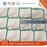 上の販売PVC安全のための上塗を施してあるチェーン・リンクの金網