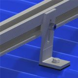 Corchetes solares de aluminio para la azotea metálica acanalada