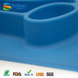 Aprovado pela FDA BPA Free One-Piece Silicone Placemat Mat for Children
