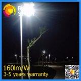 Iluminación al aire libre de 4-12W LED de movimiento del sensor de la calle solar durable del jardín