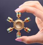 Populärer Metallunruhespinner-Handspinner