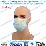 Mascarillas médicas del procedimiento de Earloop y respirador de partículas Qk-FM002 del cuidado médico