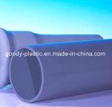 Трубы водопитания PVC полной величины твердые