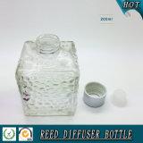 [200مل] ماء مكعب زجاجيّة قصبة [دوفّوسر] زجاجة مع [متّ] فضة غطاء