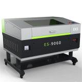 Автомат для резки гравировки кожи ткани лазера СО2 Es-9060 акриловый высекая