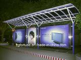 Высокими лоснистыми материал печатание гибкого трубопровода знамени гибкого трубопровода печатание освещенный контржурным светом материалами