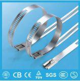 Multi tipo cinta plástica da escada do fechamento do aço inoxidável