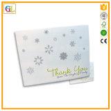 Tarjeta de visita del papel de algodón de la impresión de la prensa de la carta